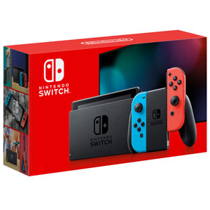 Nintendo Switch (2019) -Red/Blue