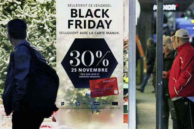 2018 retrospektive des Black Friday in der Schweiz