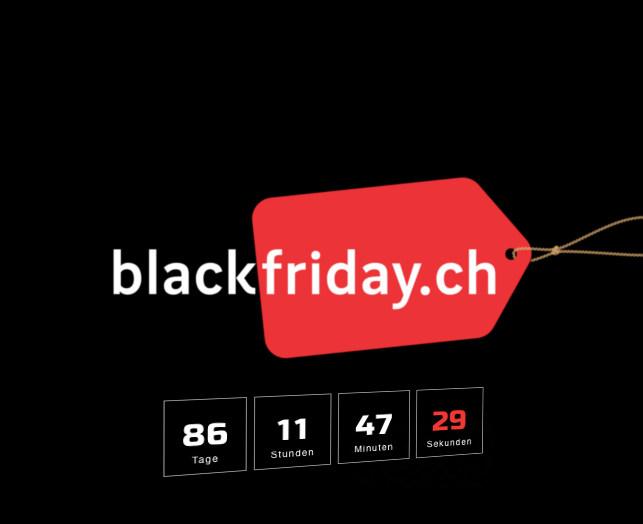 Der Black Friday 2019-Countdown läuft!